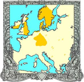 mapa de las runas vikingas y su expansion