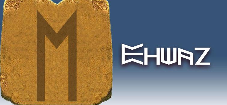 runa Ehwaz significado