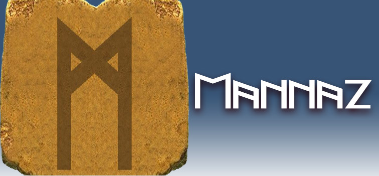 runa Mannaz significado
